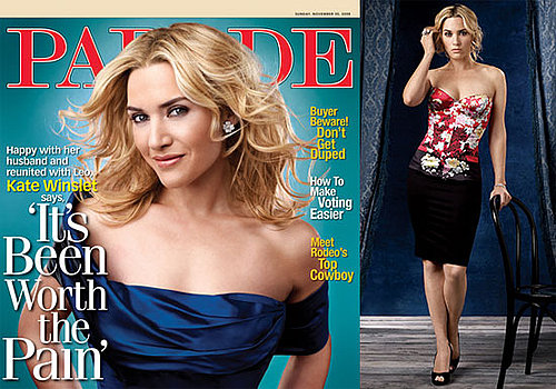Photos and Quotes From Kate Winslet's Parade Magazine Interview About Leonardo DiCaprio