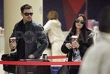 Megan Fox and Brian Austin Green Leave LAX