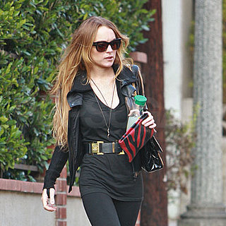 Lindsay Lohan Out in LA Shopping 2008-11-30 07:00:00