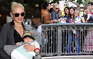 Photos of Gwen Stefani, Gavin Rossdale, Kingston Rossdale, Zuma Rossdale, Ruby Maguire, Jennifer Meyer in LA