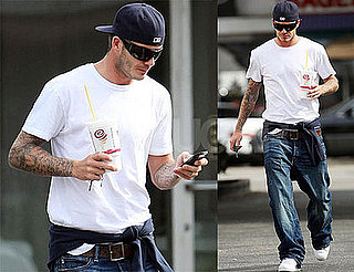 David Beckham Looks Perfect In LA