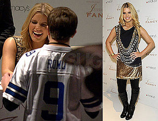 Photos of Jessica Simpson Promoting Fancy In Chicago and Calling Tony Her Cowboy