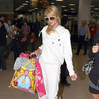 Paris Hilton Arrives in Miami