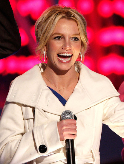"Britney at ""Light of the Angels"" Tree Lighting"