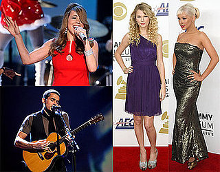 2009 Grammy Nominees, Photos of Nomination Event Including John Mayer, Christina Aguilera, Mariah Carey