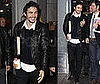 Photos of James Franco Leaving a Morning Show in NYC