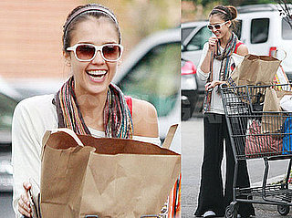 Jessica Alba Smiles Away Any Photoshop Drama