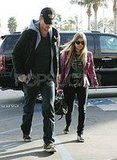 Fergie and Josh Out Shopping