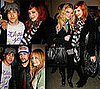 Photos of Ashlee, Joe, Jessica Simpson, Pete Wentz, Nicole Richie, Joel Madden at Art Gallery Opening
