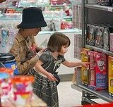 Katie, Tom and Suri Toy Shopping