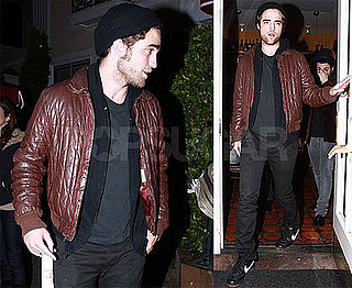Photos of Robert Pattinson at Il Sole in LA