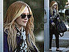 Photos of Ashlee Simpson Changing Hair Color at Salon