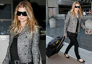 Photos of Fergie at LAX