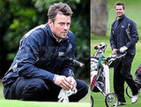 Josh Duhamel Plays a Round of Golf