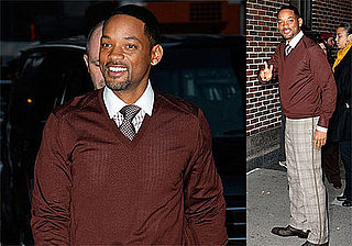 Photos and Video of Will Smith on The Late Show