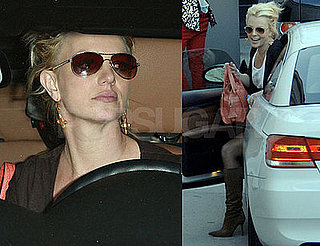 Photos of Britney Spears Driving In LA