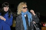 Kim Basinger at Airport