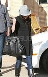 Alyson Hannigan Shops at Barneys LA