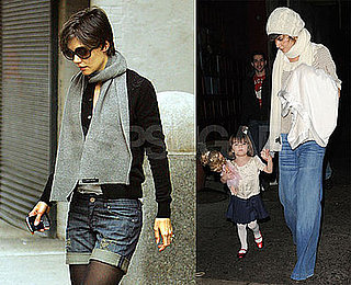 Photos of Katie Holmes and Suri Cruise in NYC 2008-12-29 04:00:00