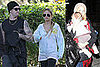 Photos of Nicole Richie and Joel Madden in LA 2008-12-23 10:30:00