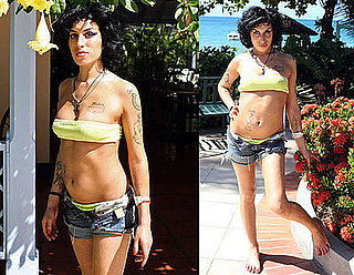 Photos of Amy Winehouse Vacationing in St Lucia in a Bikini