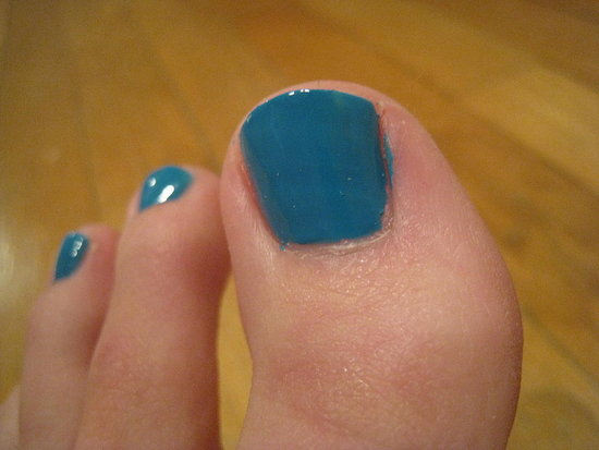 Sephora Brand Nail Polish #55 (Turquoise Blue)