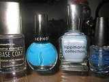 Photos: Crazy For Blue (Lippmann + Sephora Polish)