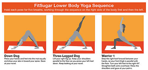 Print It: FitSugar Lower Body Yoga Sequence