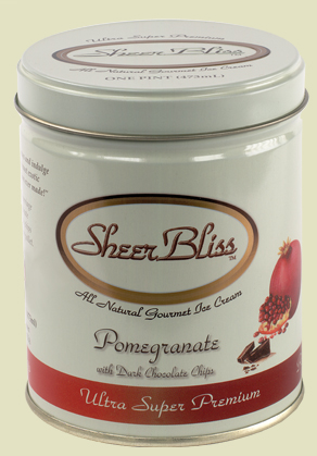 Pomegranate Dark Chocolate Chip by Sheer Bliss