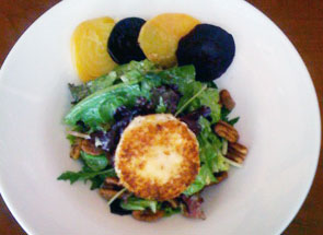 Toasted Goat Cheese Salad