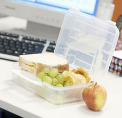 Back on Track: Pack Your Lunch Now