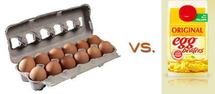 Eggs vs. Egg Beaters
