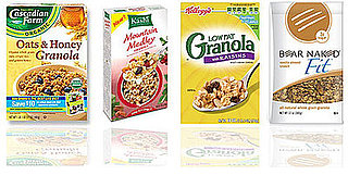 Side by Side Nutritional Comparison of Popular Granola Brands