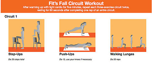Free All Body Circuit Workout