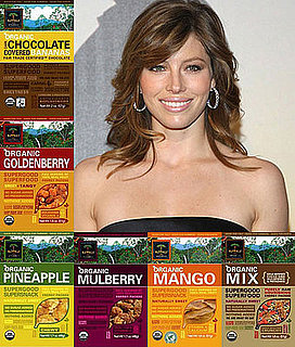 Jessica Biel Snacks on Kopali Organics