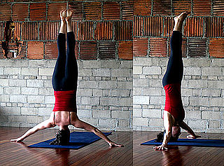 Strike a Yoga Pose: Iron Cross Headstand