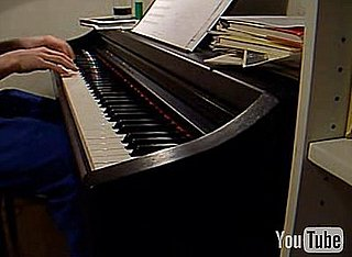 Super Mario Theme on Piano