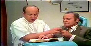 Harvey Korman in The Carol Burnett Dentist's Sketch