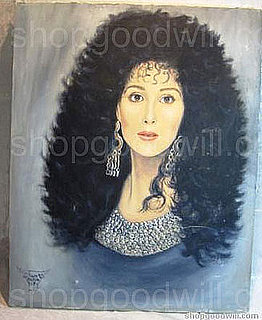 Product of the Day: Original Acrylic Portrait of Cher