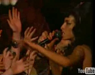 Amy Winehouse Throws Punch Into Audience During Concert