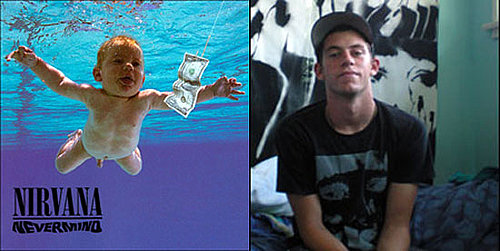Baby from Nirvana's Nevermind Album Now 17 Years Old