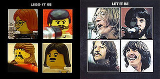 Album Covers Created in Lego!