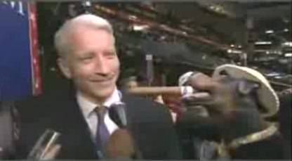 Triumph the Insult Comic Dog Hearts Anderson Cooper, Too!