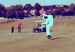Golf Course Astronaut Prank