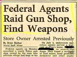Weapons? In a Gun Shop?