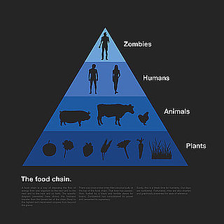 The Food Chain, According to Zombies