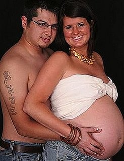 Topless Pregnancy Photo