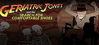 Geriatric Jones and the Search for Comfortable Shoes