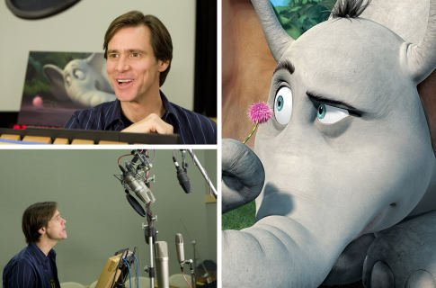 Jim Carrey as Horton (Horton Hears a Who)