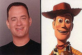 Tom Hanks as Woody (Toy Story)